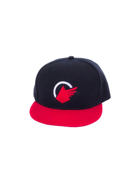 Snapcap Black & Red