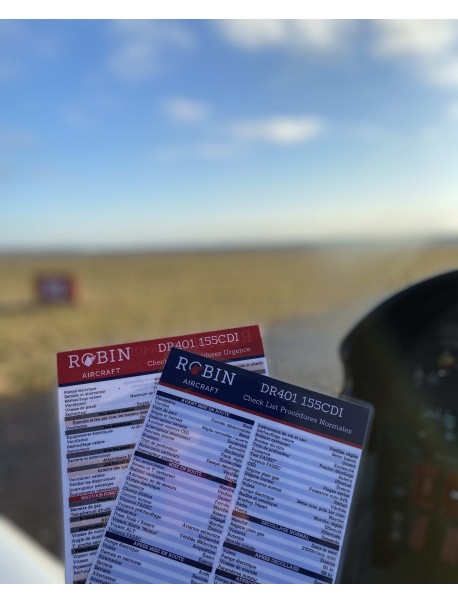 Checklist DR401/DR400 160 Long Range